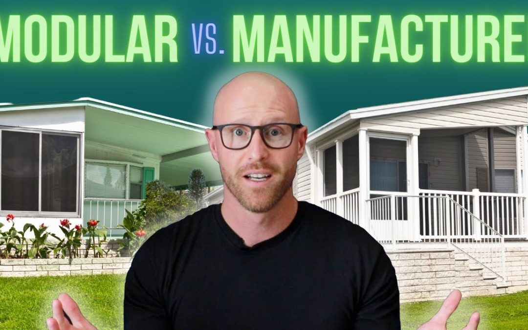 What's The Difference Between A Modular Vs Manufactured Home?