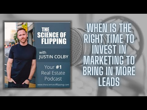 WHEN IS THE BEST TIME TO INVEST IN MORE MARKETING?